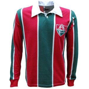 Liga Retrô Times Fluminense Fluminense 1913 Manga Longa 7bd3d1e4bb6b4
