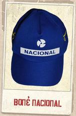 1859800da9237 Liga Retrô Acessórios Bonés Senna - Boné Nacional